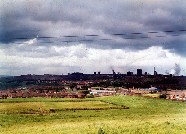 Historic views of Consett Steelworks