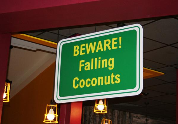 Falling Coconuts